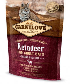 Carnilove Cat Adult -Rentier