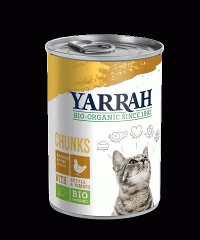 vollwertiges Katzen Nassfutter von Yarrah