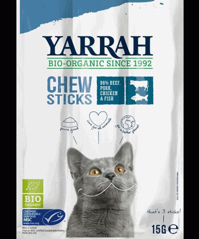 Kaustangen für Katzen von Yarrah