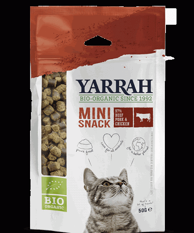 Bio Snack für Katzen von Yarrah