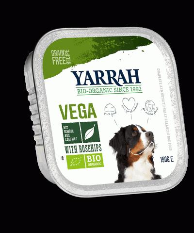 Yarrah Bröckchen Vegan für Hunde