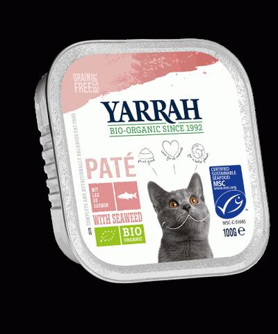 Katzenfutter mit Bio Lachs