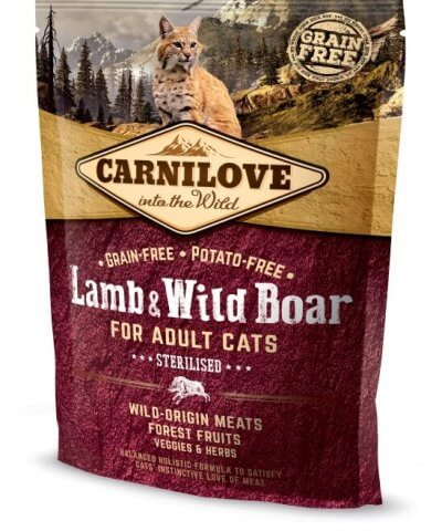 Carnilove Cat Adult - Lamb Wild Boar