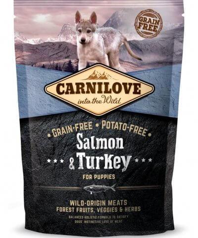 Carnilove Hund - Salmon & Turkey Welpen und Junghunde
