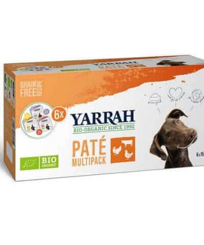 Yarrah Hundefutter Pate Multi Pack