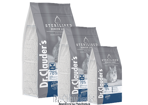 Dr.Clauder's High Premium Sterilized Senior Light Kopie
